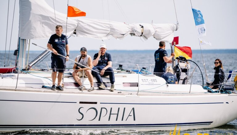 Video: 33 jahtas sāk 'Gulf of Riga Regatta'