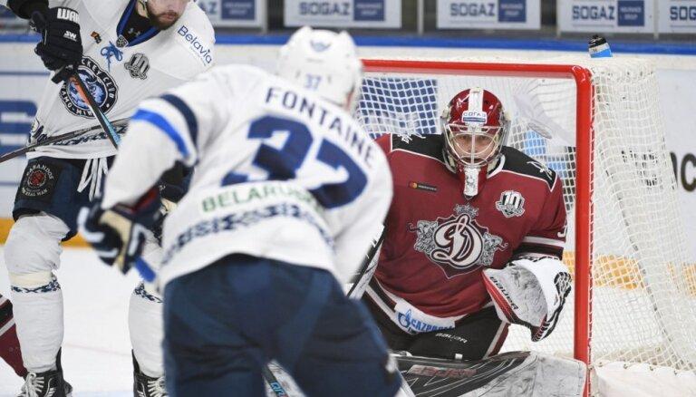 Rīgas 'Dinamo' kārtējā pagarinājumā piekāpjas Minskas 'Dinamo'