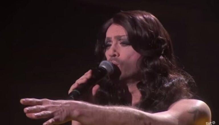 ВИДЕО: Руководитель музыкального конкурса переоделся в Кончиту Вурст