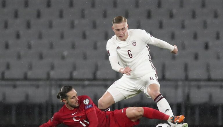 Latvijas izlases kandidātos iekļauti iepriekš savainotie Tobers, Šteinbors un Gutkovskis