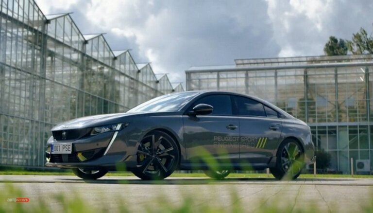 ВИДЕО: Французы отжигают с Peugeot 508 PSE