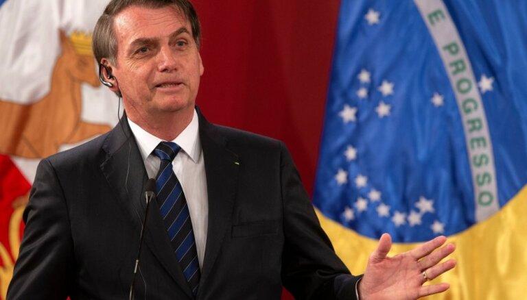 Bolsonaru aicina rīkot svinības par godu Brazīlijas militārā apvērsuma gadadienai