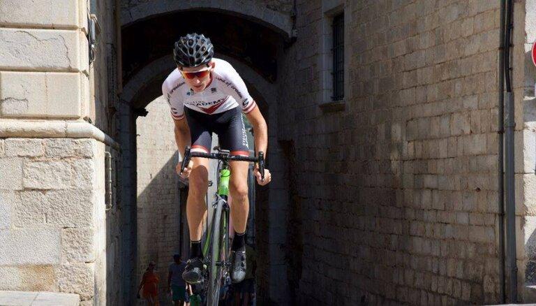 Neilands trešais labākais jaunais braucējs 'Tour de la Provence' otrajā posmā