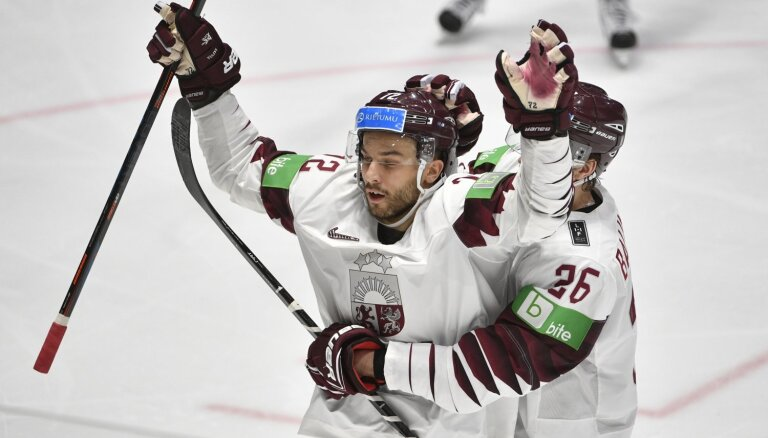 Latvija ar skaistu uzvaru atvadās no pasaules čempionāta