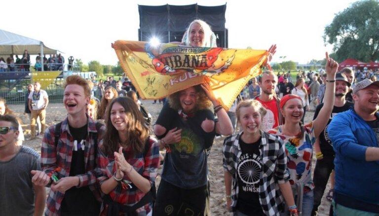 ФОТО: На Луцавсале стартовал фестиваль Kubana