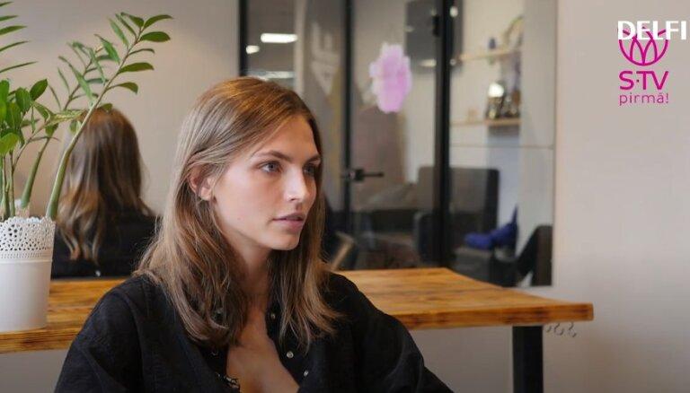 Modele Karlīna Caune: dažreiz pārņem sajūta, ka neesmu mammas materiāls