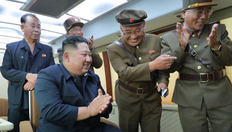 Северная Корея объявила о тестах сверхгабаритной реактивной системы залпового огня