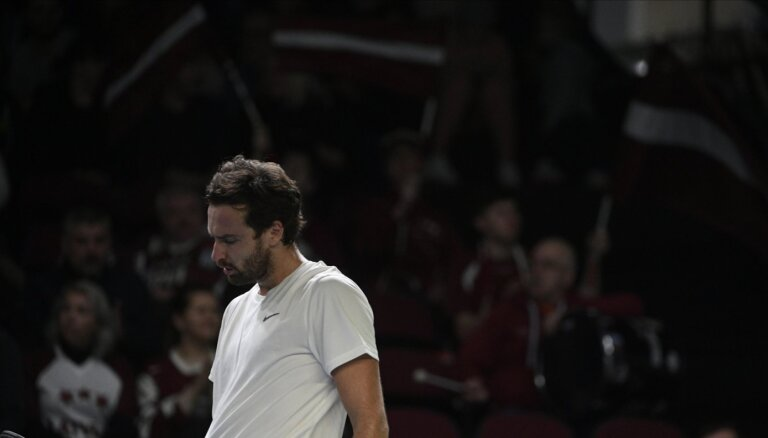 Latvijas tenisa izlasei pēc divām aizraujošām spēlēm neizšķirts pret Ēģipti