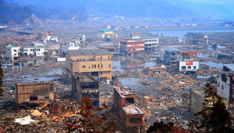 Японцы обнародовали видео Великого землетрясения 2011 года
