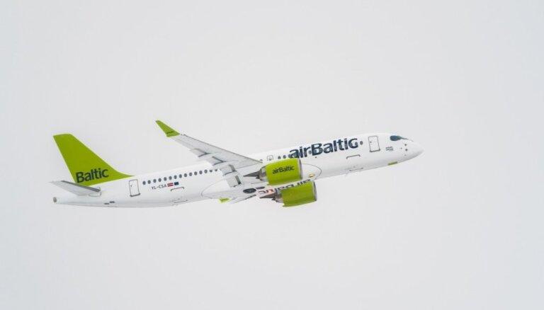 Существенно выросло число эстонских пассажиров аirBaltic