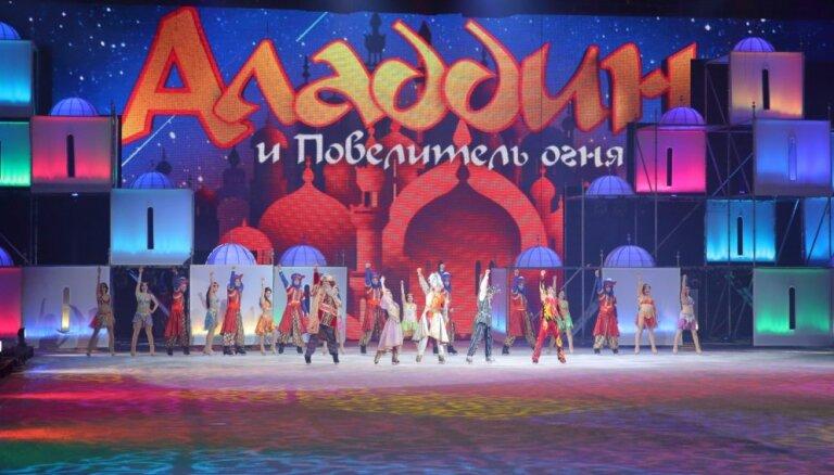 """Как они это делают? В Ригу едет ледовое шоу """"Аладдин и Повелитель огня"""""""
