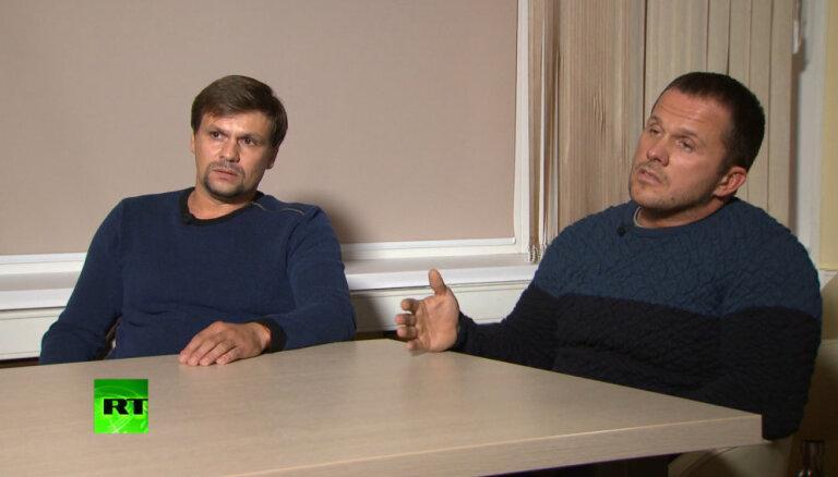 """Подозреваемые по """"делу Скрипалей"""" Петров и Боширов: мы были в Солсбери как туристы"""
