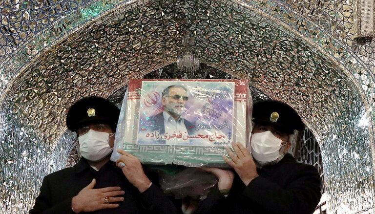 Irānas kodolzinātnieks nogalināts ar Izraēlā ražotu ieroci, apgalvo Teherāna