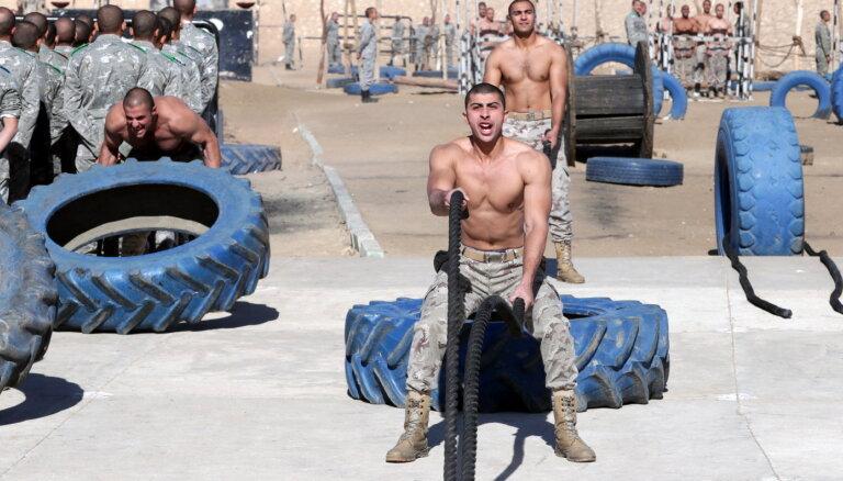 Ēģipte karavīrus nosūtījusi arī uz Sīriju