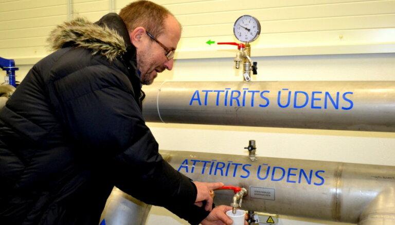 Ozolnieku ciema iedzīvotājiem nu pieejams labākas kvalitātes dzeramais ūdens