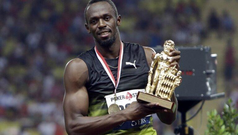 Bolts izcīna uzvaru savās, visticamāk, pēdējās Dimanta līgas sacensībās 100 metru sprintā