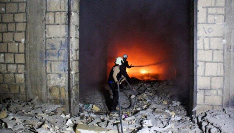 ASV bloķē ANO paziņojumu, kas atbalstītu Krievijas – Turcijas vienošanos par pamieru Sīrijā