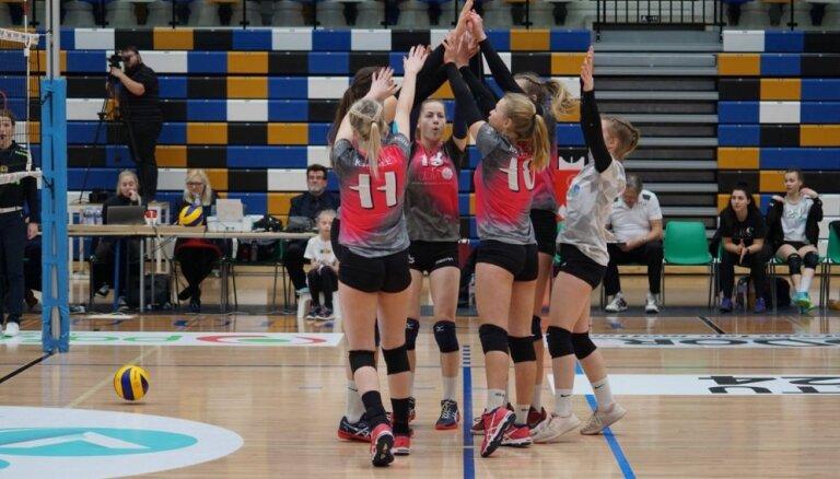 RVS un MSĢ/'Zeltalejas' volejbolistes nodrošina vietas Latvijas čempionāta fināla