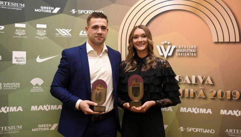 Ikauniece un Štrobinders atzīti par 2019.gada labākajiem vieglatlētiem