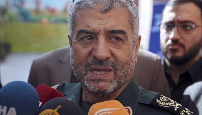Irānas ģenerālis vaino Pakistānu terorakta organizētāju atbalstā