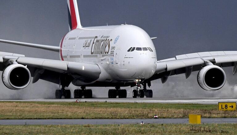 Gaisā palikuši tikai trīs milzeņi 'A380'