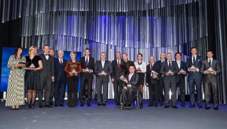 Desmito reizi tiek noskaidroti Latvijas labākie sportisti