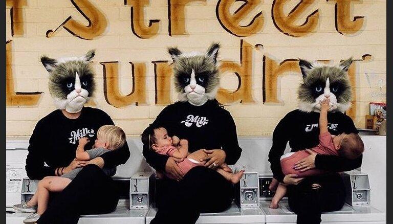 В соцсетях началась вирусная кампания в поддержку кормящих мам