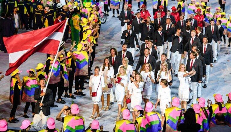 LOK atklāj Latvijas olimpiskās delegācijas vārdisko sastāvu