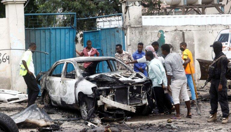 Sprādzienā pie Somālijas prezidenta pils astoņi bojāgājušie
