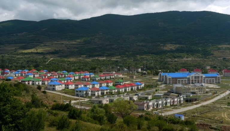 Dienvidosetijas vēlēšanās uzvar 'Vienotā Osetija', kas aicina pievienoties Krievijai