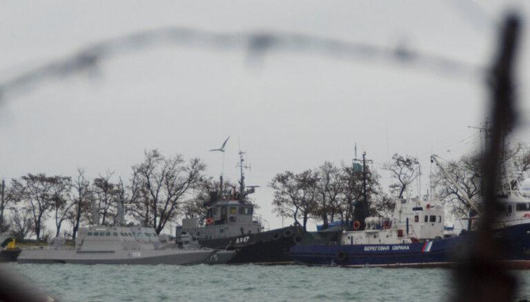 """""""Большая семерка"""" потребовала от России отпустить украинских моряков"""