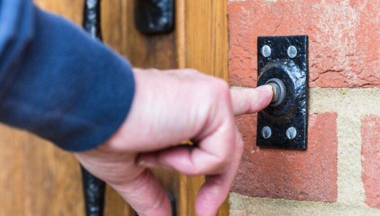 Durvju zvans - pirmais iespaids par mājokli