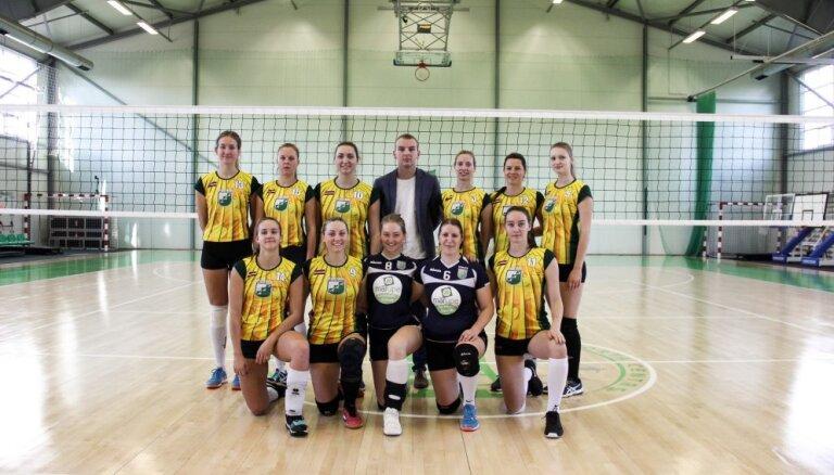 Noskaidrotas visas pusfinālistes Latvijas kausā volejbolā sievietēm