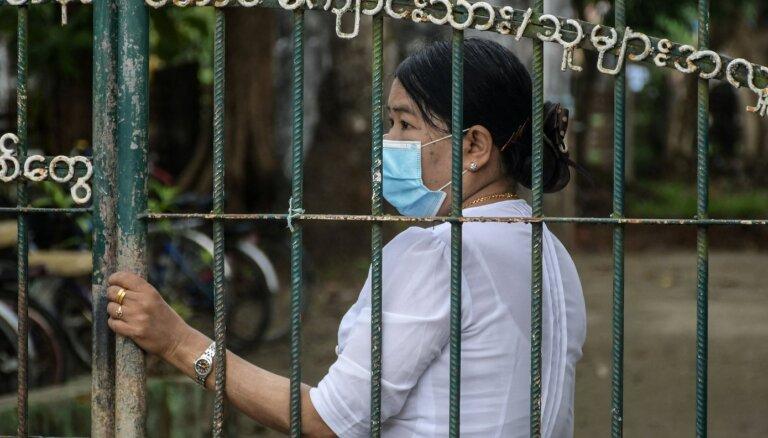 Mjanmā var notikt cilvēku masveida bojāeja, brīdina ANO