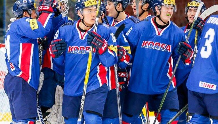 Хоккеисты Южной Кореи впервые в истории пробились в элиту мирового хоккея