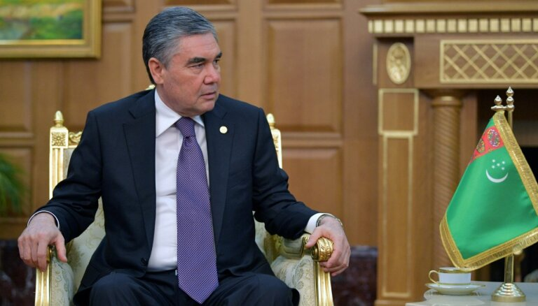 Turkmenistānas prezidents ieceļ savu dēlu ministra amatā