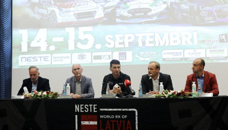 'Neste World RX of Latvia': atjaunināts grants segums un 'Project E' auto prezentācija