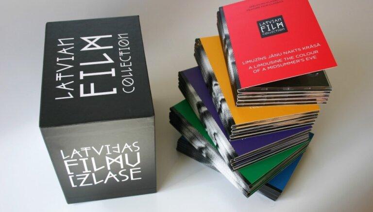 Bibliotēkas un izglītības iestādes saņems apjomīgu Latvijas filmu izlasi DVD formātā