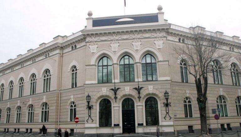 Latvijas Bankas peļņa pērn bijusi 14,6 miljoni eiro