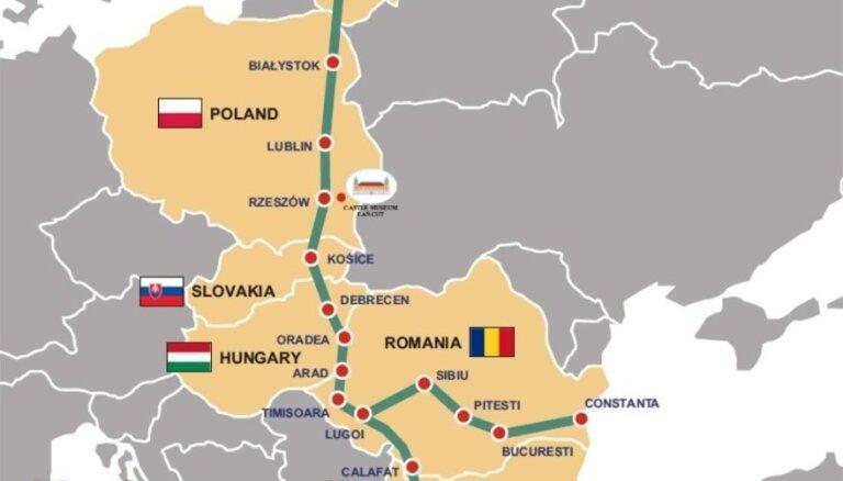 Новый амбициозный проект Via Carpatia: через Карпаты сквозь Европу до Балтики