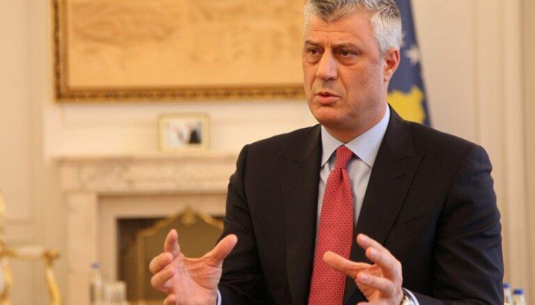 Kosovas prezidents noraida Serbijas ideju par teritoriju apmaiņu