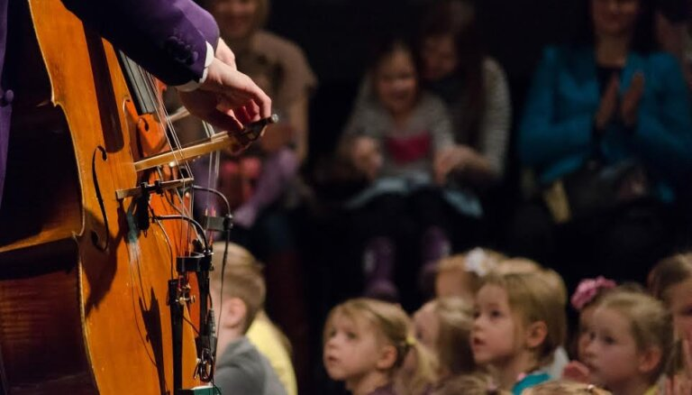 'Ezītis miglā' – oktobrī pirmais koncerts ciklā 'Patiešām maziņiem'
