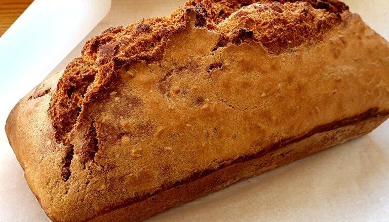 Vienkāršā iesala maize bez raudzēšanas