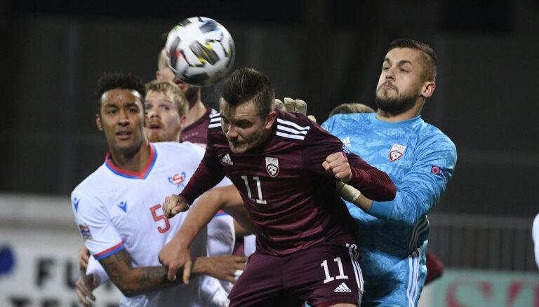 Latvijas futbola izlases katastrofa turpinās - Nāciju līgā joprojām bez uzvarām