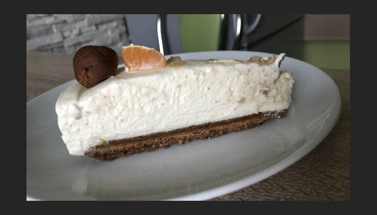 Сырный пирог с белым шоколадом на корже из теста пипаркукас