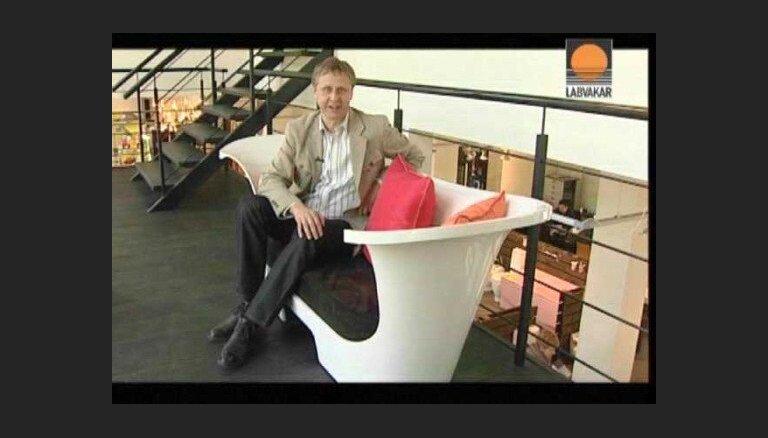 'Latvija var': Vannu ražotājs Pēteris Treicis