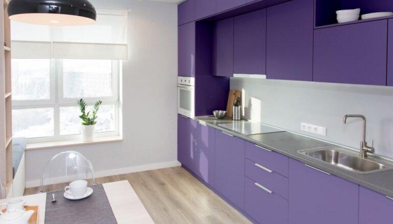 Izteiksmīgi violetā – 2018. gada krāsa un ierosmes tās izmantošanai interjerā