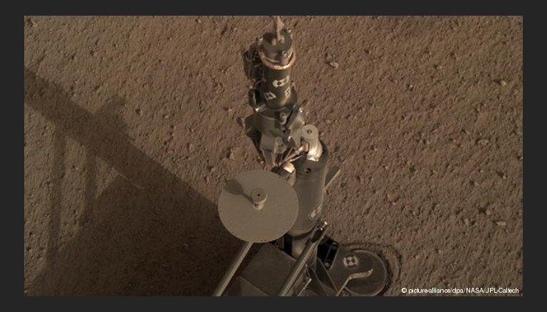 Немецкий зонд HP3 впервые пробурил поверхность Марса