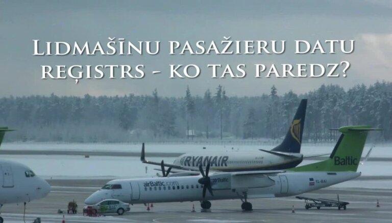 Kas jāzina par lidmašīnu pasažieru datu reģistru?