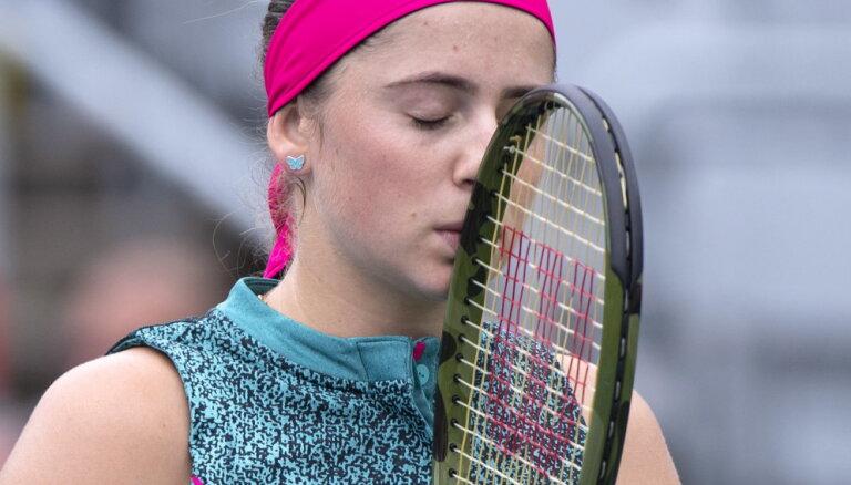 Остапенко не смогла пройти первый круг на турнире WTA в Монреале